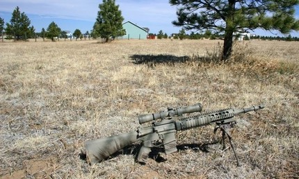 The MSgt's MK12 at home in CO